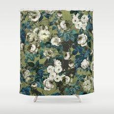Midnight Garden Shower Curtain