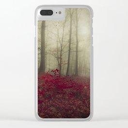 Hidden Place Clear iPhone Case