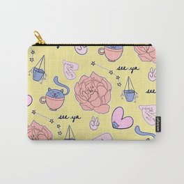 Cute Pastel Pattern Carry-All Pouch