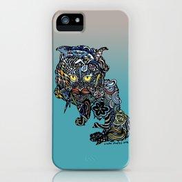 Dragon Cat (Color) iPhone Case