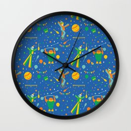 Circus Performers Wall Clock