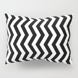 PATTERN#01 =STRIPES/BLACK+WHITE= Pillow Sham
