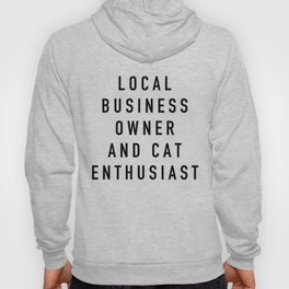 Cat Enthusiast Hoody