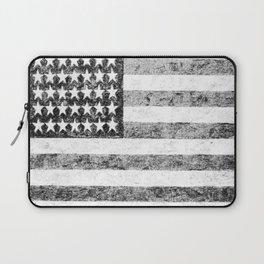 Grunge American Flag Laptop Sleeve