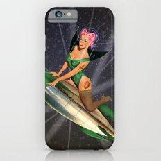 Christmas Pin-Up - Search & Destroy Rocket iPhone 6s Slim Case