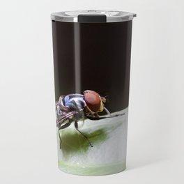 Blue Fly Travel Mug