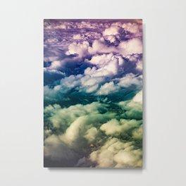 Cloud Ground Metal Print