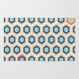 Digital Honeycomb Rug