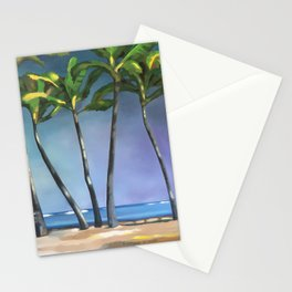 Palms Dancing Stationery Cards
