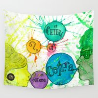 et Wall Tapestries featuring Et Cetera by Art by Kaitlyn Alyse