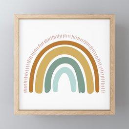 Boho Rainbow Framed Mini Art Print