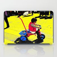 cycling iPad Cases featuring Cycling by lookiz