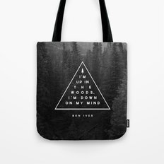 Woods -- Bon Iver Tote Bag