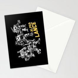 Alpha Lance Stationery Cards