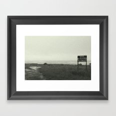 Happy Hotel Framed Art Print