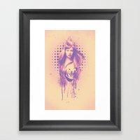 Lolly Framed Art Print