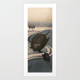 Japan Art, Turtles Art Print