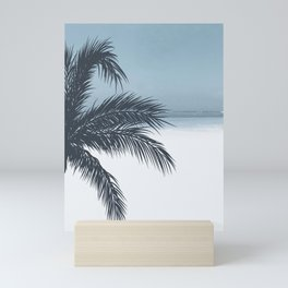 Palm and Ocean Mini Art Print