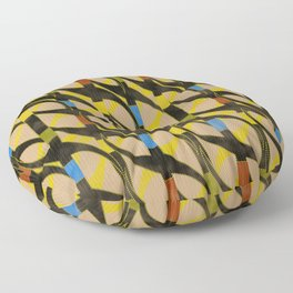 Partition of Water Floor Pillow