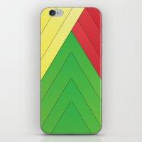 rasta iPhone & iPod Skins featuring Rasta Triangles by Arlo @ Creative Konzepts