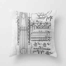 Stringed musical instrument Throw Pillow