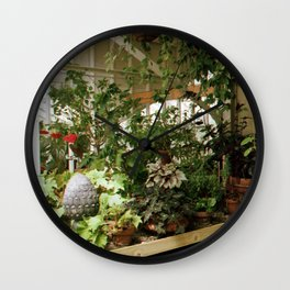 Over Grown Table 2 Wall Clock