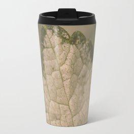 Leaf Macro Travel Mug