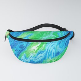 Blue & Green So Clean Fanny Pack