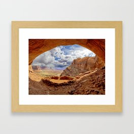 False Kiva Framed Art Print