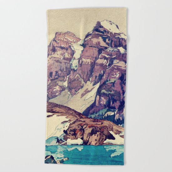 The Dimyian Breathing Beach Towel