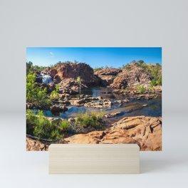 Panoramic view at Edith Falls, Katherine, Australia Mini Art Print