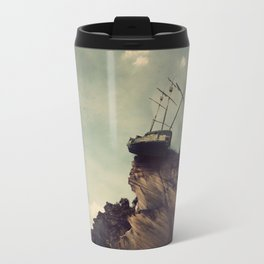Pirate Ship Tall Ship - The Edge of the World Travel Mug