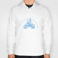 library Hoodies featuring The Library  by bookwormboutique