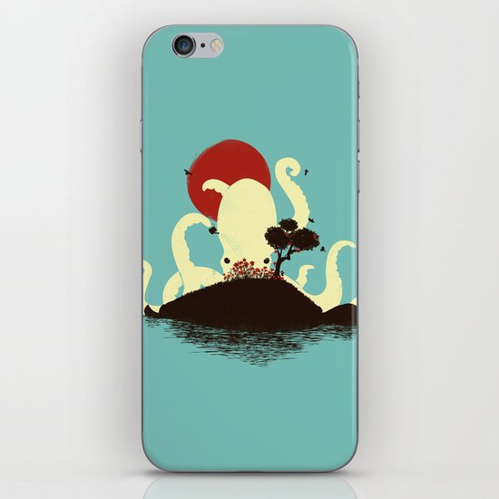 Octopus's Garden iPhone & iPod Skin