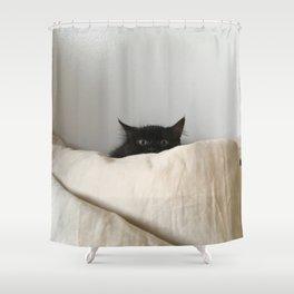 PEEK A BOO BAT M* Shower Curtain