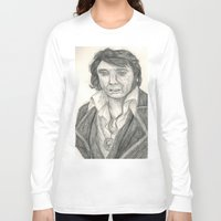 elvis presley Long Sleeve T-shirts featuring Elvis Presley by battyelf