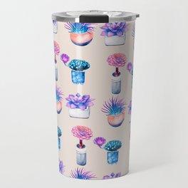 Succulents Cactus pattern Travel Mug