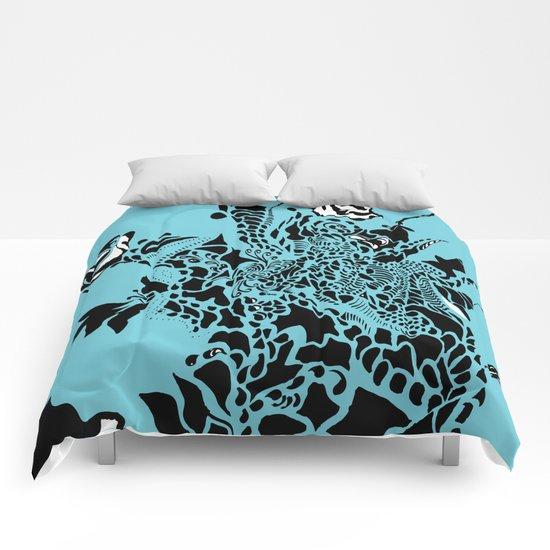 Floral Burst Comforters