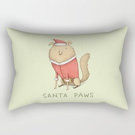 Santa Paws Rectangular Pillow