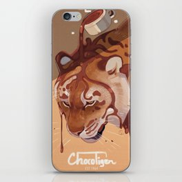ChocoTiger iPhone Skin