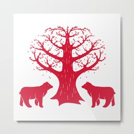 Love Bears Metal Print
