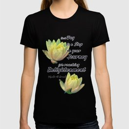 Yellow Lotus Flowers T-shirt