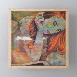 The Black Square Framed Mini Art Print