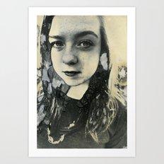 Megan (Mordancage) Art Print
