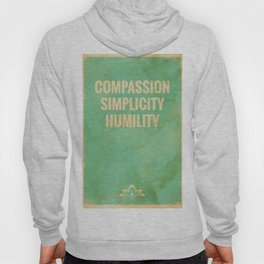 The Three Jewels of Taoism: Compassion, Simplicity, Humility Hoody