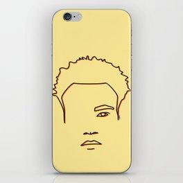 Childish Gambino - Yellow & Orange palette iPhone Skin