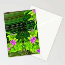 Another view into garden ... Stationery Cards