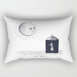 Don't Sunshine On My Rain Parade Rectangular Pillow