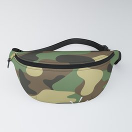 CAMO & WHITE BOMB DIGGITY Fanny Pack