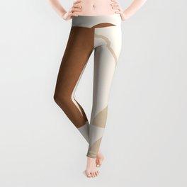 Geometric Modern Art 32 Leggings